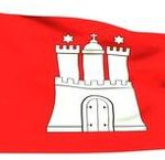 Hamburg, Fahne, Flagge, Wappen, Logo, Bundesland
