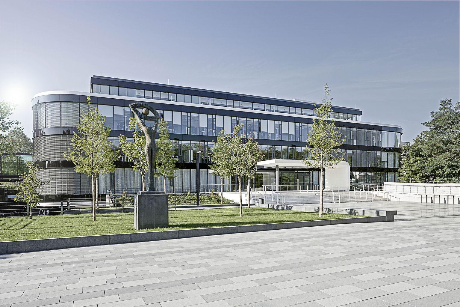Hauptgebäude der BGV Badische Versicherungen in Karlsruhe