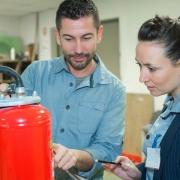 DGUV: Betrieblicher Brandschutz