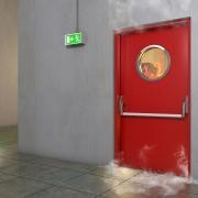 Brandschutztür / Feuerschutztür