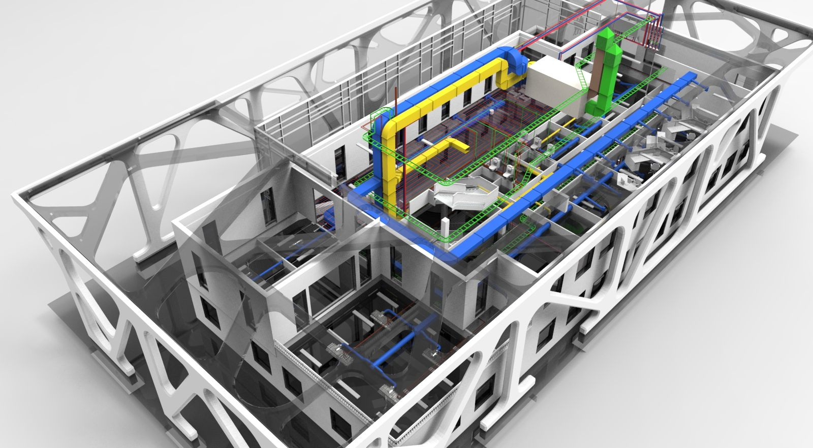 Digital Bauen und Planen mit Building Information Modeling (BIM)