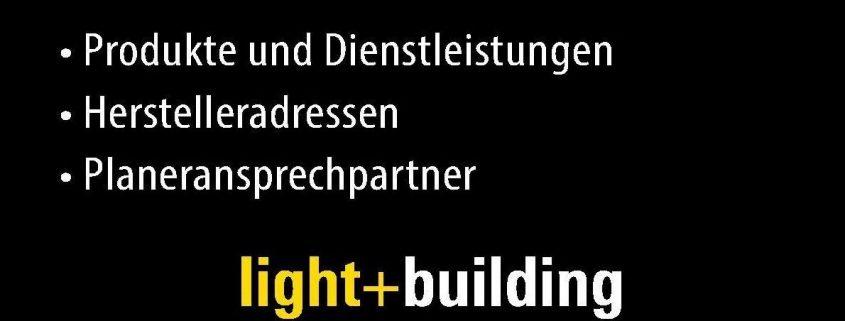 DGWZ-Planerhandbuch zur Light + Building 2018