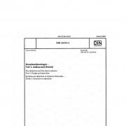 DIN 14675-1:2020-01 Brandmeldeanlagen - Teil 1: Aufbau und Betrieb