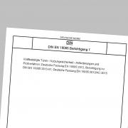 Norm DIN EN 16005 Berichtigung 1: Nutzungssicherheit - Anforderungen und Prüfverfahren