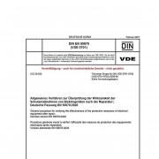 """DIN EN 50678; VDE 0701 """"Allgemeines Verfahren zur Überprüfung der Wirksamkeit der Schutzmaßnahmen von Elektrogeräten nach der Reparatur"""""""