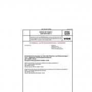 DIN EN IEC 62485-1 Sicherheitsanforderungen an Sekundär-Batterien und