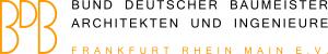 Logo BDB Bund Deutscher Baumeister, Architekten und Ingenieure Frankfurt Rhein-Main e.V.