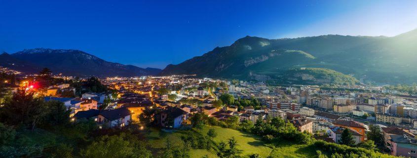 Megatrend Urbanisierung - Stadt im Abendlicht