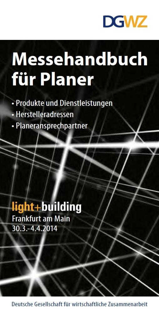Messehandbuch für Planer - Light+Building 2014