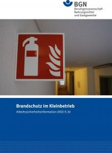 """ASI 9.30 """"Brandschutz im Kleinbetrieb"""""""
