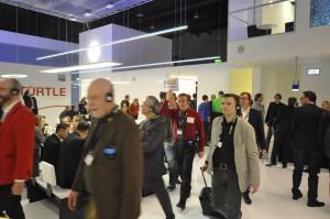 Planerrundgang der Deutschen Gesellschaft für wirtschaftliche Zusammenarbeit auf der Light+Building 2014