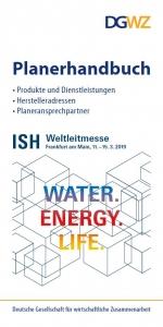 Titel Planerhandbuch ISH 2019 Messe Frankfurt