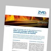 Neues ZVEI-Faktenblatt zu Kabeln und Leitungen